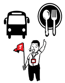 Transporters | Tour Guides | F&B Operators